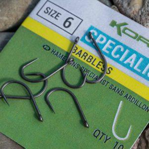 korum xpert specialist barbless horog_1