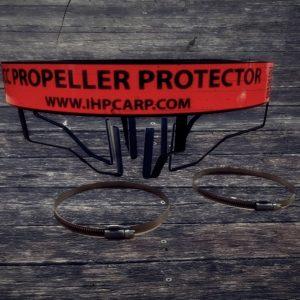 ICC INOX BLACK EDITION Csónakmotor propeller védő (hengeres testhez) (2)